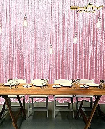 Sequin Backdrop Curtains 5FTX10FT, Shimmer Sequin Fabric/Photography  Background,Sparkle Sequin Backdrop