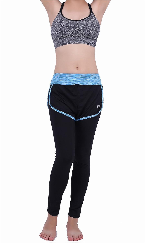 Amazon.com: 2 piezas mujer conjuntos trajes de deporte ...