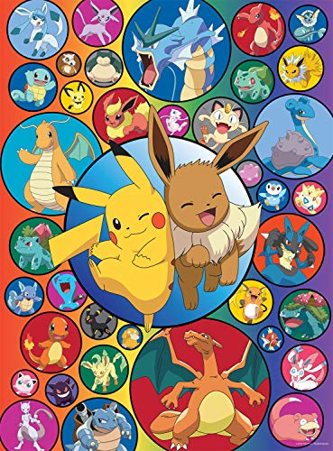 Buffalo Games - Pokemon - Pokemon Bubbles - 1000 Piece Jigsaw Puzzle