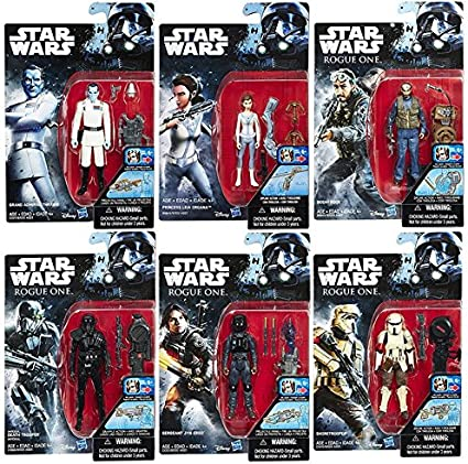 Set of 6 Ties for 8 inch Retro figures