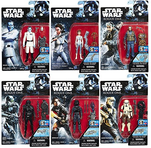 "Star Wars Rogue One and Rebels Action Figures 3.75"" Wave 3 -"