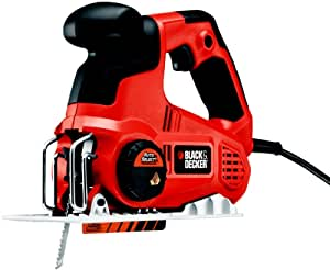 Black and Decker KSTR8K-QS - Sierra de vaivén con AutoSelect (600 W, 230 V)
