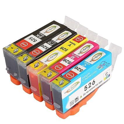 Win-TinTen - Juego de 5 Cartuchos de Tinta para Impresora Canon ...