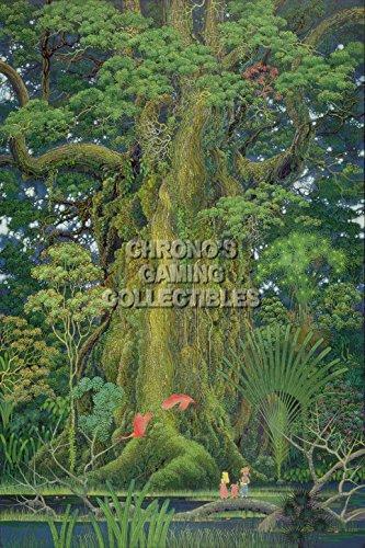 Nintendo CGC Huge Poster GLOSSY FINISH - Secret of Mana Art Super SNES Art - SOM003 (24