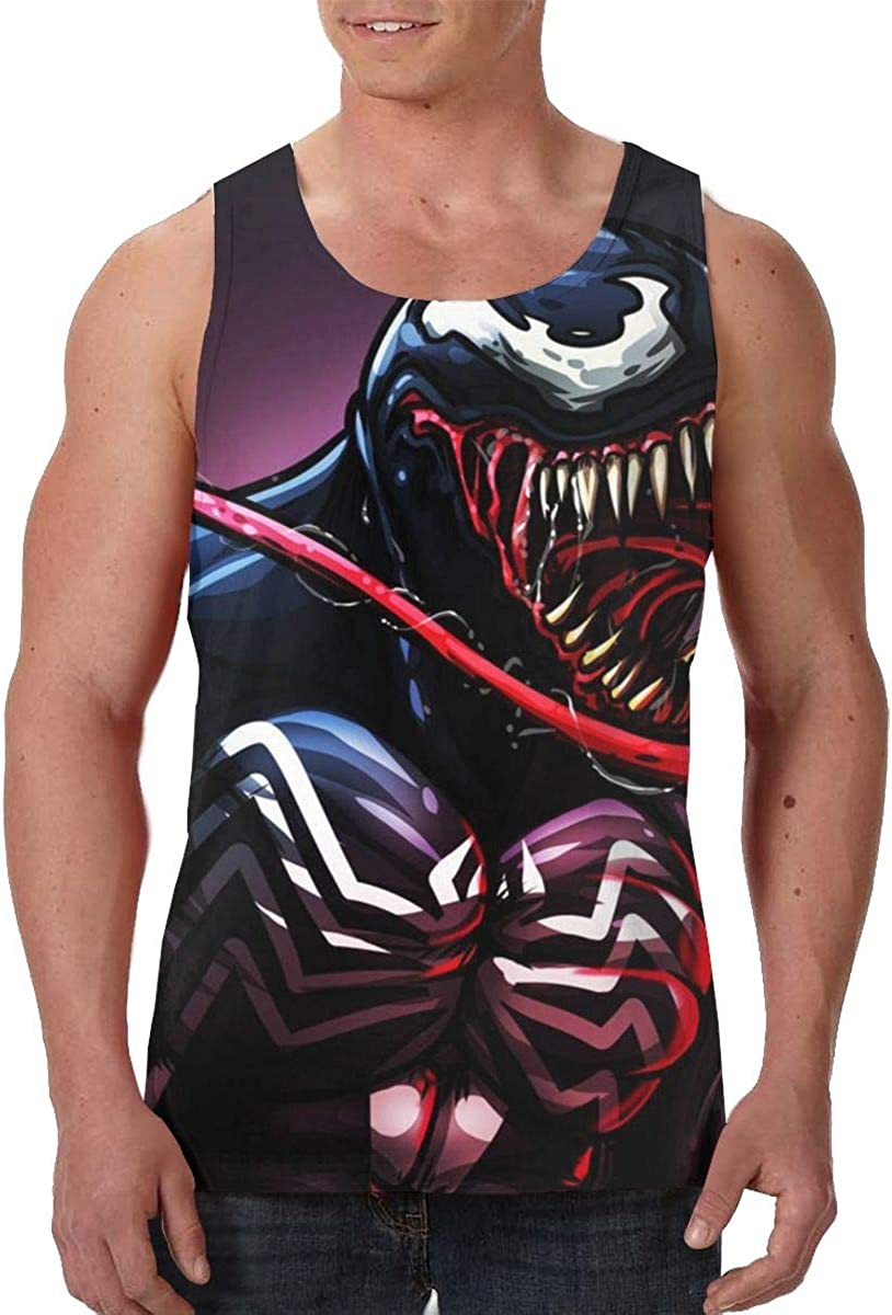 Moisture Wicking Mens Sleeveless Vest T-Shirts Summer Tank Shirts Sportswear