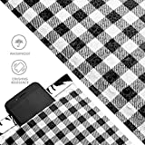 Metronic 25pcs Gingham Plaid Poly Bubble Mailers