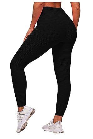 615ba3e5ebb357 Yidarton Women's Sexy High Waist Stretch Yoga Leggings Tummy Control Pants  Sports Workout Gym Running Fitness
