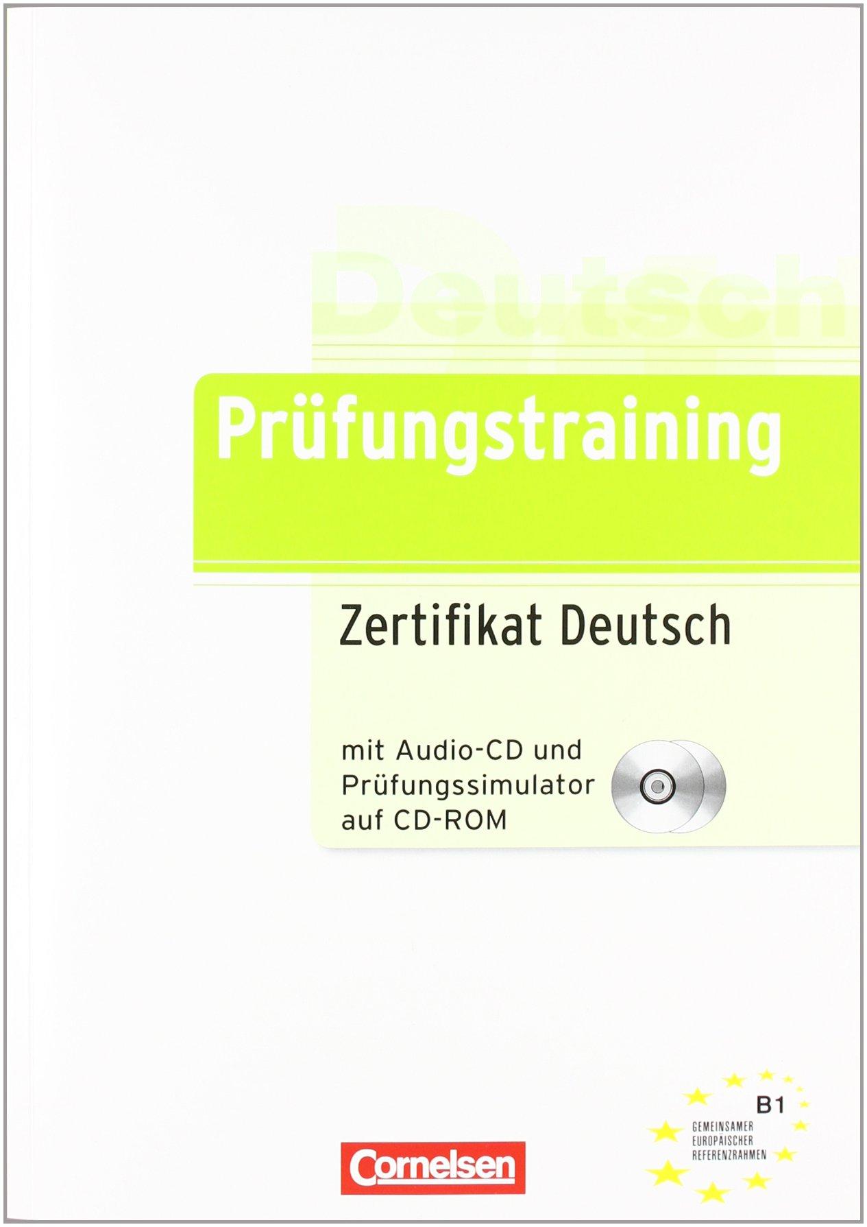 Prüfungstraining Daf B1 Zertifikat Deutsch übungsbuch Mit Cd Und