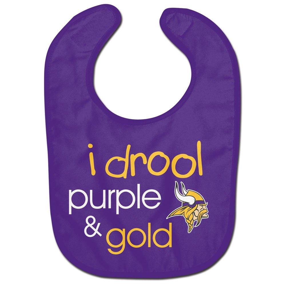 Wincraft NFL Minnesota Vikings WCRA1961614 All Pro Baby Bib