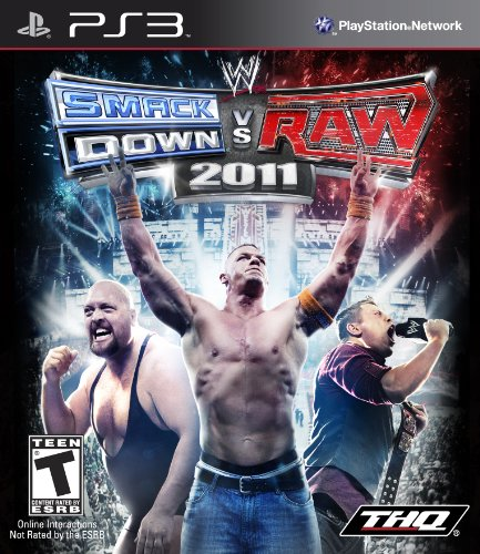 WWE SmackDown vs. Raw 2011 - Playstation - Wwe Raw And Smackdown 2011