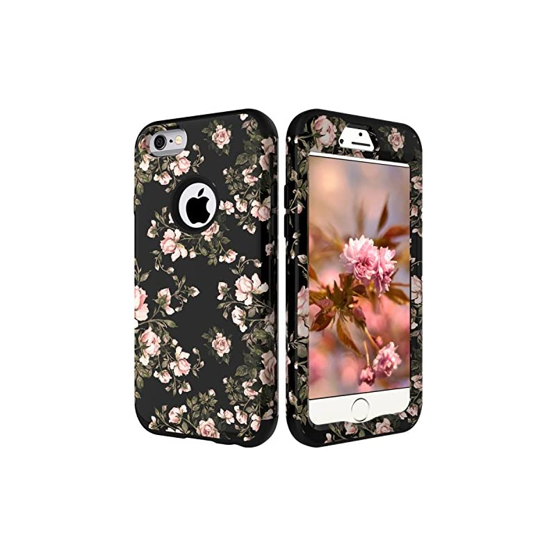 iPhone 6S Flowers Case, iPhone 6 Case fo