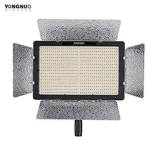 YONGNUO YN1200 Pro LED Video Light 5500K Photography and Video Recording Fill Light w/ 2Pcs CT Filters & Remote Controller Adjustable Brightness CRI≥95 Support APP Remote Control Studio Lighting by YONGNUO