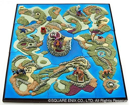 Knight Ghost Dragon of Dragon Quest celebrates its 25th Anniversary map diorama collection Complete BOX slime golem Dragon King Demon Meijikimera Doraki SQUARE ENIX