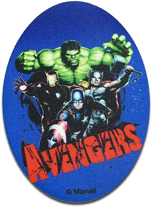 Parches - Avengers grupo Comic - azul - 11 x 8 cm - by Marvel ...