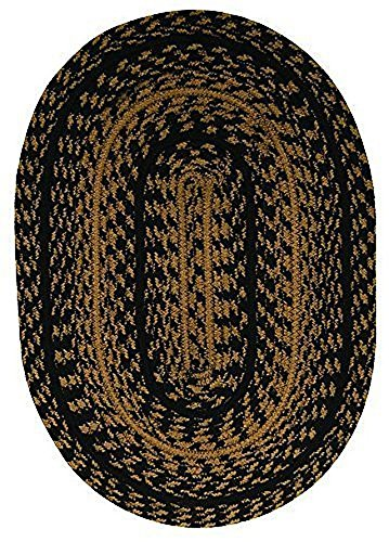 cwi-gifts-braided-ebony-placemat-13-x-19-set-of-4
