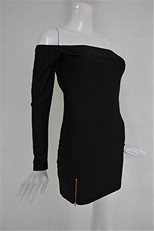 OnIn Elegant Womens Above Kes Off Shoulder Mini Dress
