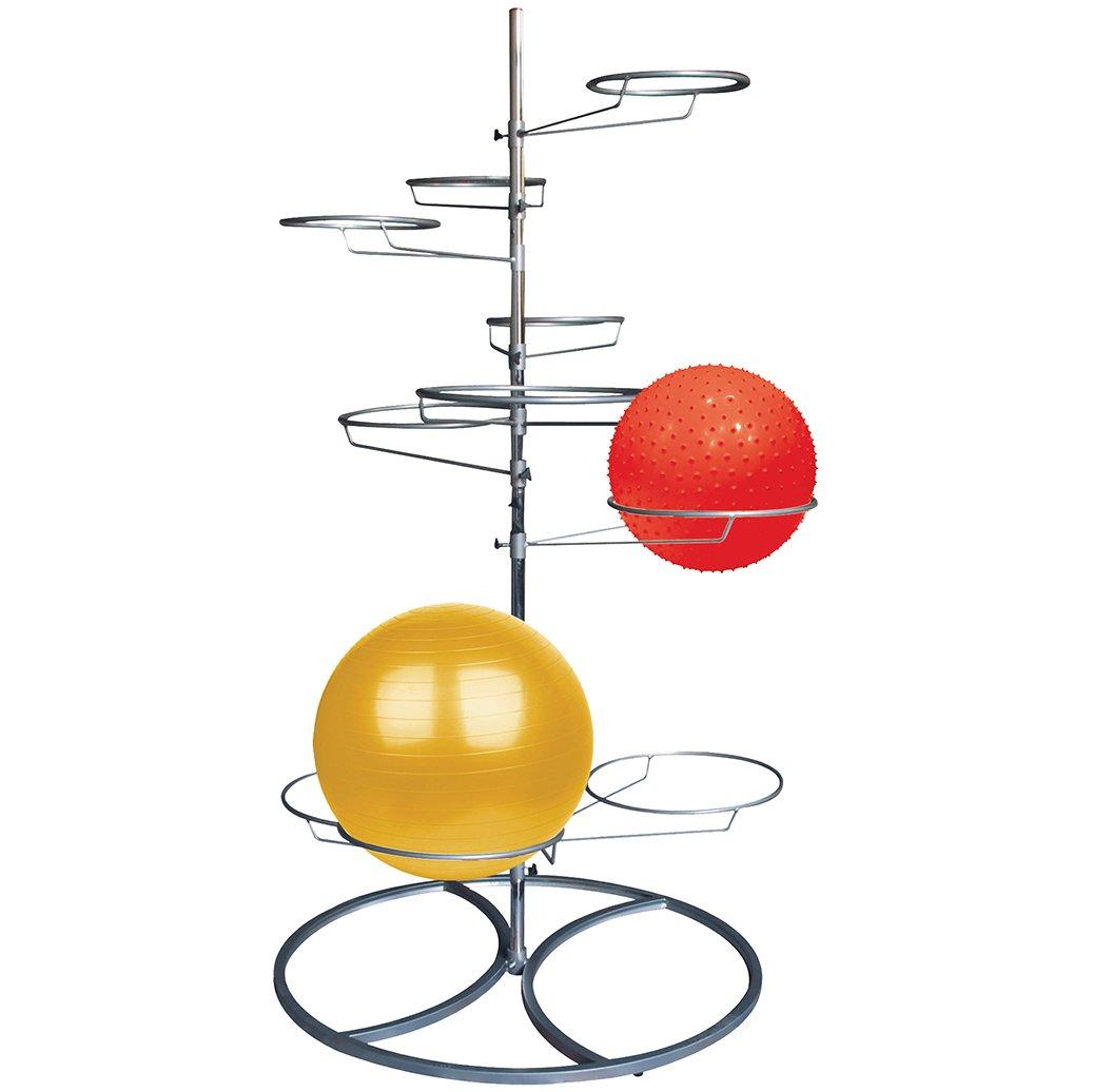 Tunturi Fun Gymnastikball Ständer Silber Silber Einheitsgröße