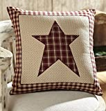 Cheston Star Fabric Pillow 16'' Comes Filled