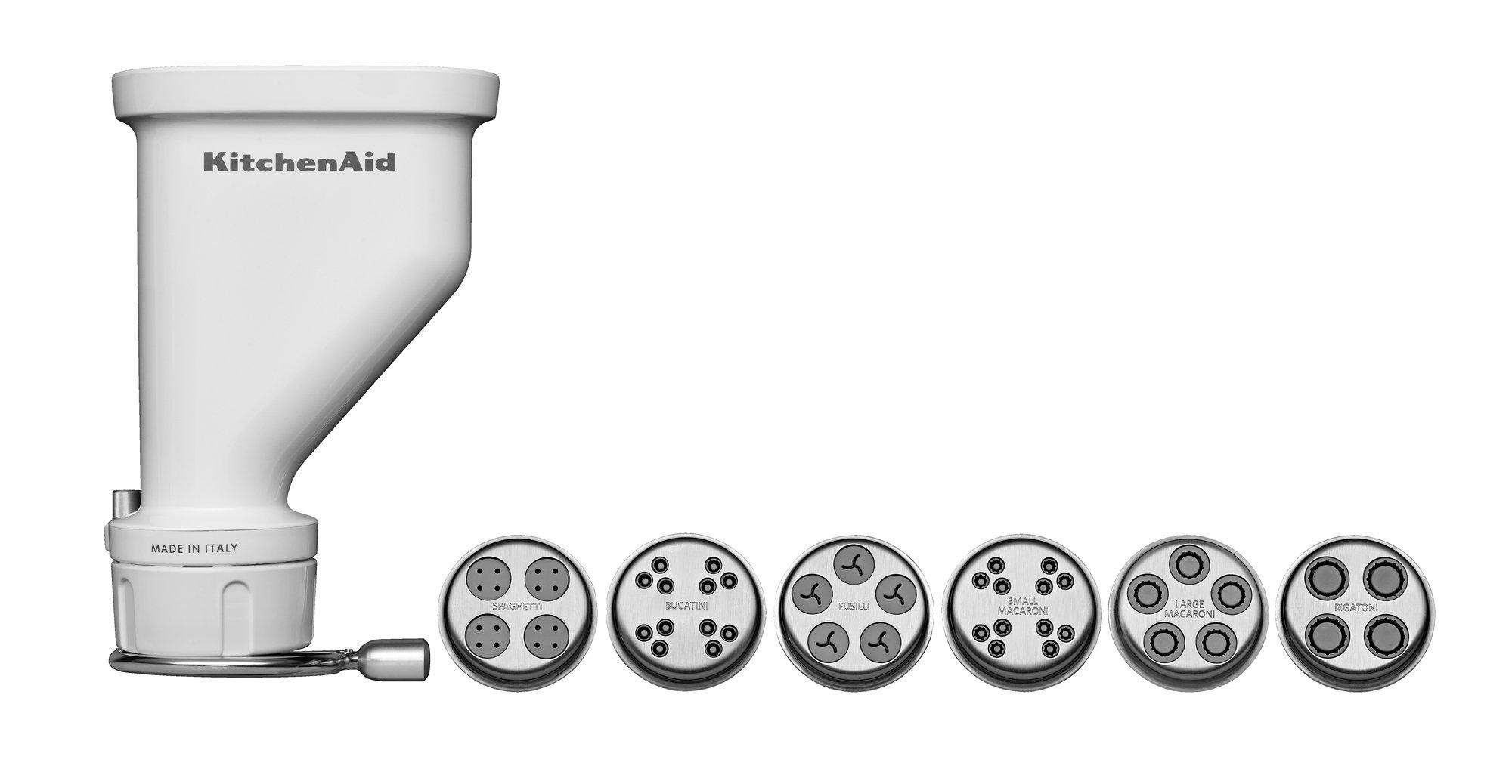 KitchenAid KSMPEXTA Gourmet Pasta Press Attachment with 6 Interchangeable Pasta Plates by KitchenAid (Image #1)