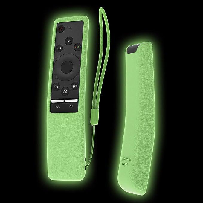 Funda para el mando Samsung 4K UHD Smart TV, de Sikai, antideslizante, de gel, con cordón, respetuosa con el medioambiente: Amazon.es: Electrónica
