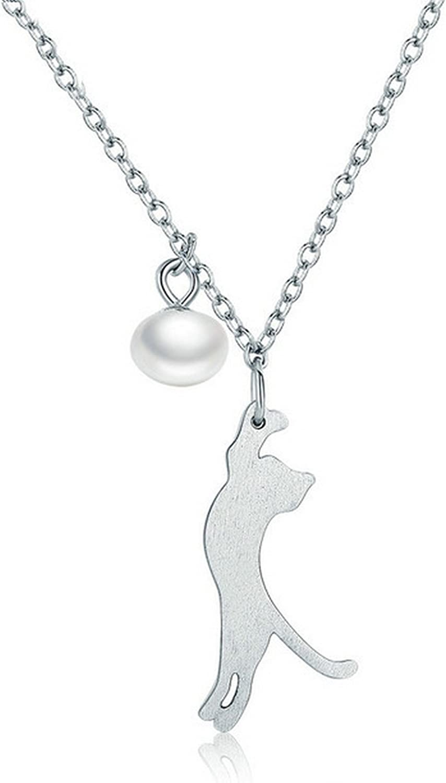 CS-DB Pendants Jewelry Dog Animal Silver Necklaces
