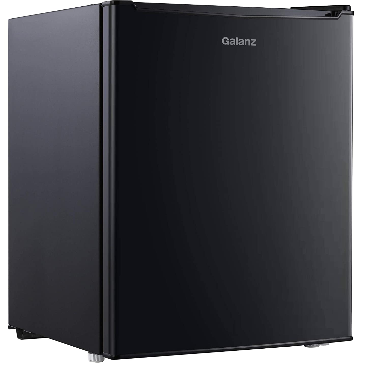 Galanz 2.7 Cu. Ft. Mini Refrigerator Freezer, Black by Unknown