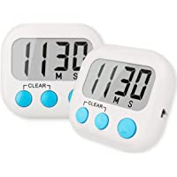Digital Timer for Kids OYV Kitchen Timer blue with Loud Alarm Magnetic Backing Stand Cooking Timer Suitable for Use in Cooking Baking Studying Teaching