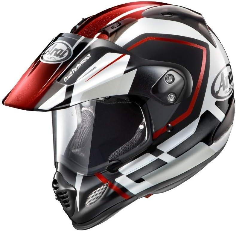 アライ(ARAI) バイクヘルメット オフロード TOUR CROSS3 DETOUR RED XS 54cm