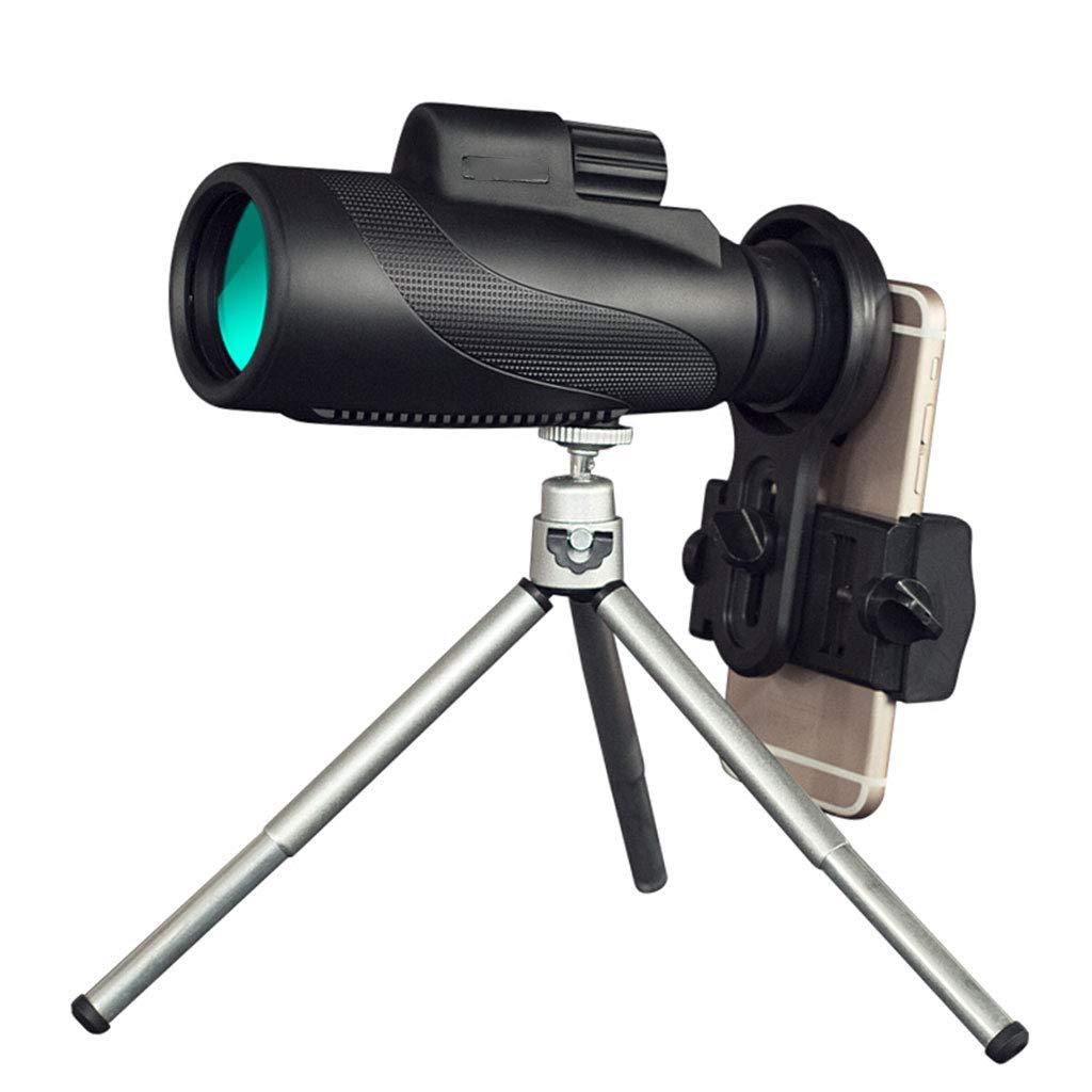 Monokulare Teleskope, 40X50 High Power Prisma Monocular Mit Smartphone-Halter, Wasserdicht Stoßfest