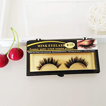 dbb299a4198 Amazon.com : Fake Eyelashes By gLoaSublim, Handmade Women Soft Makeup  Natural Curly Long False Eyelashes Lashes Extension? - Black : Beauty