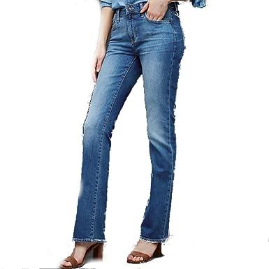 c63ba9a1326 Gap Women AUTHENTIC 1969 Perfect Boot Jeans - Medium indigo (31L) at ...
