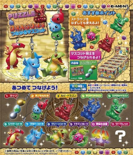 Mascot BOX lead Puzzle & Dragons (japan import)