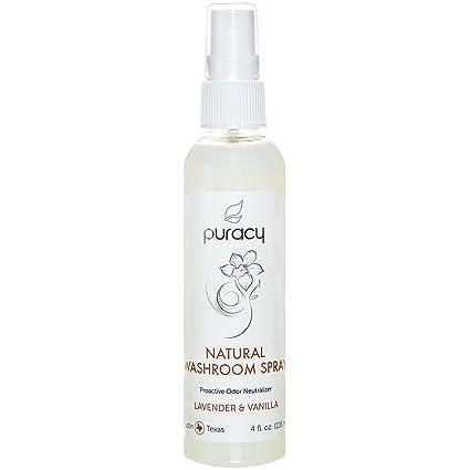 Amazon Puracy Natural Toilet Spray Lavender And Vanilla Best Bathroom Air Freshener