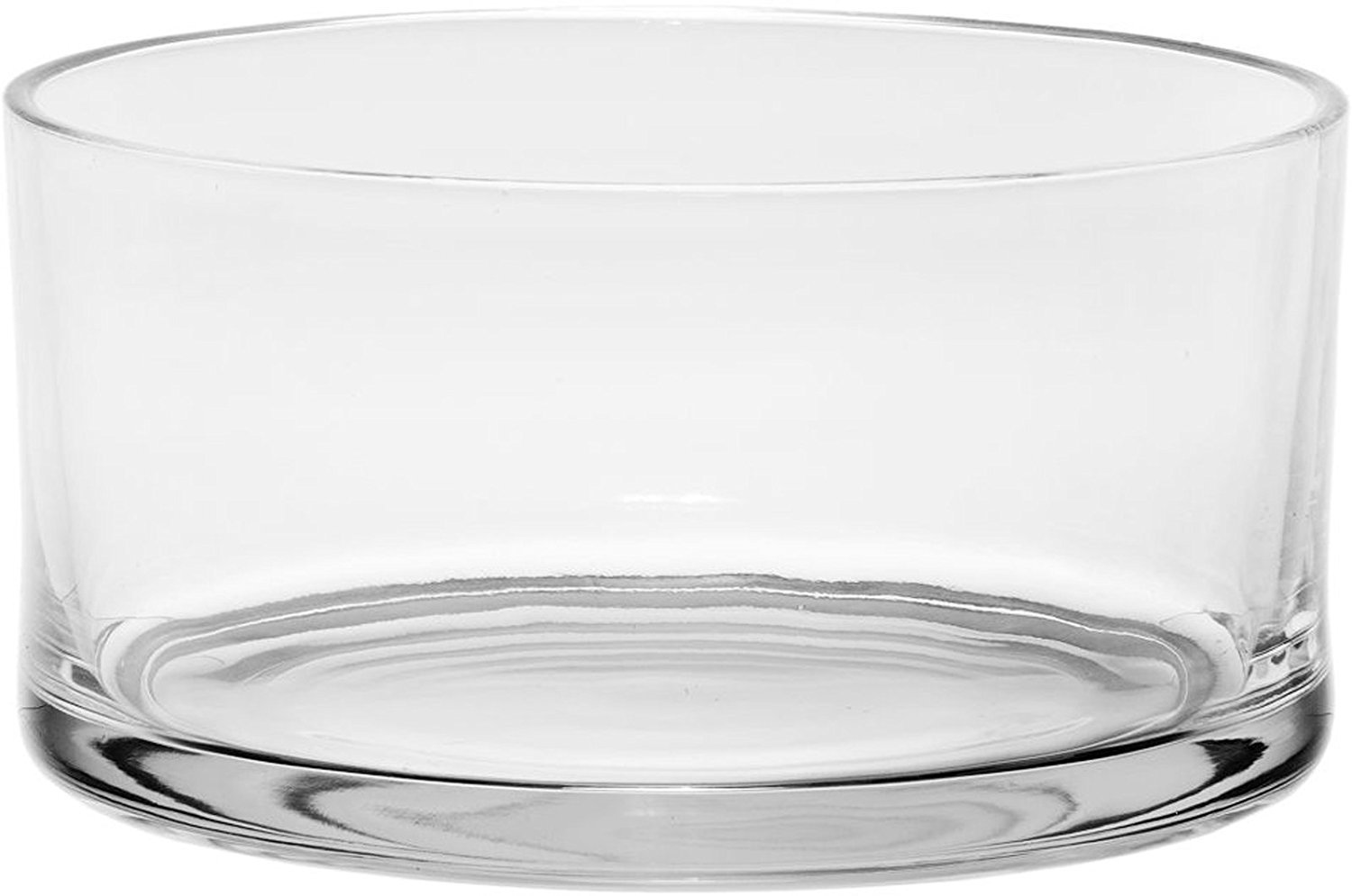 #1 High Quality Large Glass Round Salad Bowl - Serving Dish - 120 Oz. Clear HE SYNCHKG125836