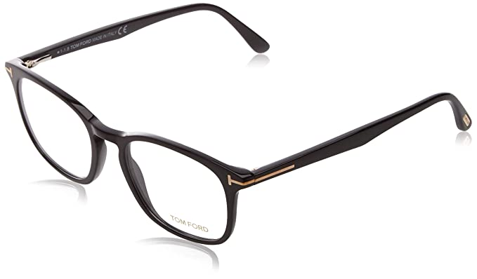 01b75c9635e56 Image Unavailable. Image not available for. Color  Eyeglasses Tom Ford FT  5505 001 Shiny Black ...