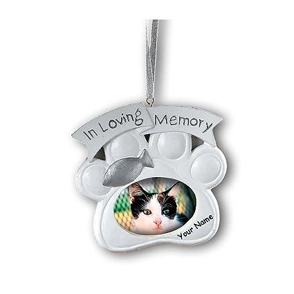 Amazon.com: Fun Express Personalized Loving Memory Cat Pet Memorial ...