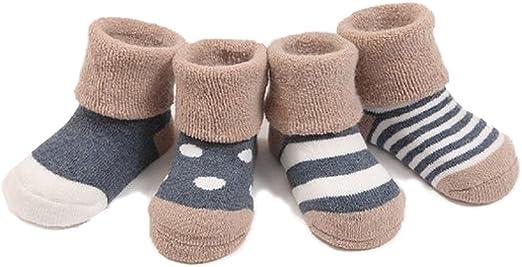 Socks Baby Newborn Infant Toddler Cute Winter Thermal Warm Socks BT