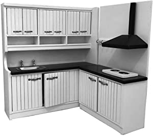 FenglinTech Dollhouse Miniatures Furniture Kitchen Set for 1 12 Scale Dollhouse Furniture