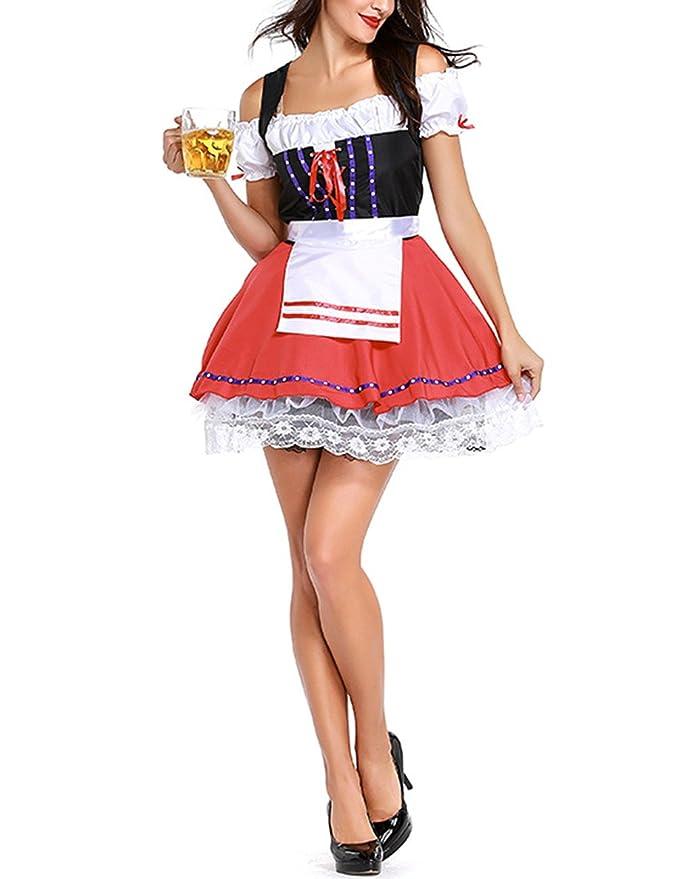 Amazon.com: Amyove Vestido de moda para mujer Sexy cerveza ...