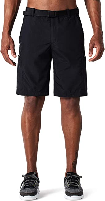 Libin Mens Outdoor Hiking Shorts Lightweight Stretch Quick Dry Cargo Shorts Water Resistant UPF 50