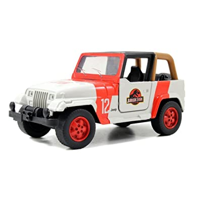 Jurassic World Movie Diecast JEEP WRANGLER 1:43 Scale Truck 2015 by United States: Toys & Games