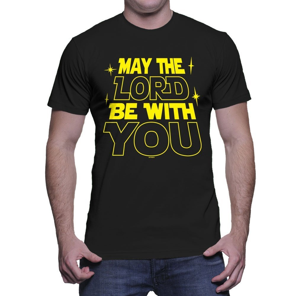 May The Lord Be With You T Shirt 6272