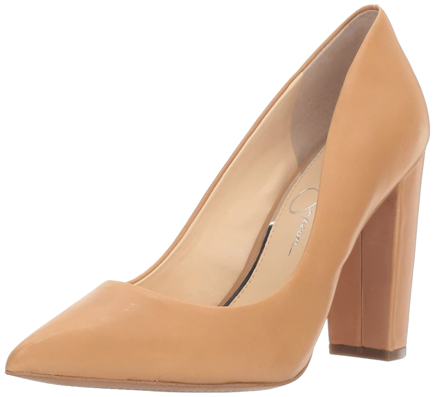 Jessica Simpson Women's Tanysha Dress Pump B01N535GEM 6 B(M) US|Buff