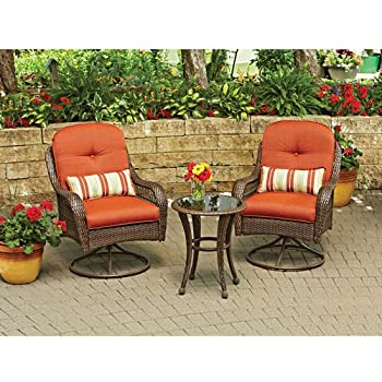 3 Piece Outdoor Furniture Set  Better Homes and Gardens Azalea Ridge 3 Piece. Amazon com  3 Piece Outdoor Furniture Set  Better Homes and