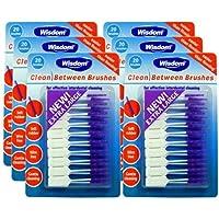 Wisdom Clean Between Interdental Large Purple Brushes - Total 120 by Wisdom