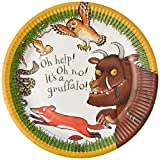 Talking Tables Gruffalo Plates, Paper, Multi-Colour, 9-Inch, Pack of 12