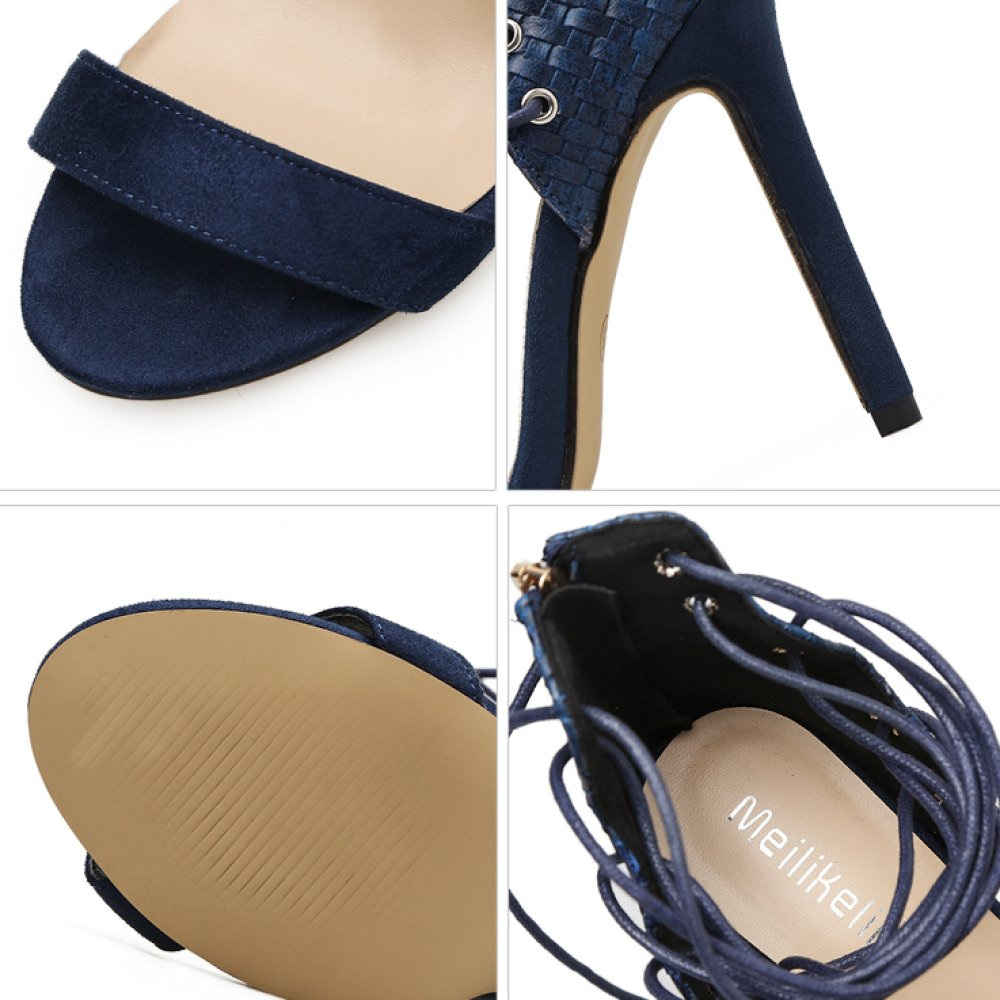 Damen Riemchen Roman Schuhe Sexy Sexy Sexy Strap Party Sandalen Stiletto High Heels Damen Peep Toe Schuhe Club Prom Pumps f43ab2