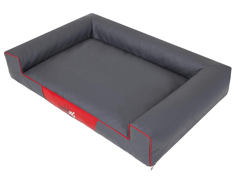 tutti i beni sono speciali Hobbydog Victoria Lux Grigio XL – 100 100 100 x 66 cm Cuccia per Cani, Cuscino per Cani, Cuscino per Cani, materassino per Dormire  è scontato