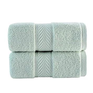 Sadasd Toalla Acolchada de algodón Mate del Hotel para el hogar, 2, 2 *