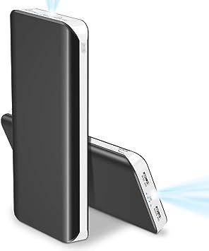 Batería Externa 25000mAh Bateria Portatil para Movil Alta Capacidad Power Bank (2USB, 5V 1A, Más 2.1A, con Linterna) Indicadores LED Cargador Portatil Movil para iPhone Huawei Android y Tabletas: Amazon.es: Electrónica